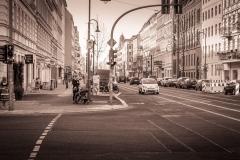 Kreuzung in Berlin