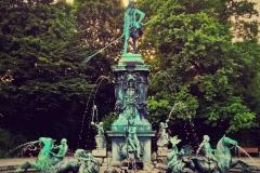 Neptun Brunnen Nürnberg Stadtpark
