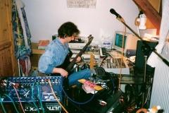 Steffen Witter Homestudio im Schlafzimmer